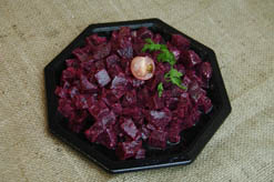 SALADE DE BETTERAVES ROUGES